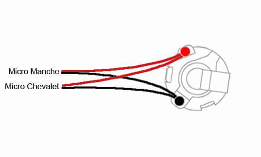 Câblage 2 micros & 1 jack