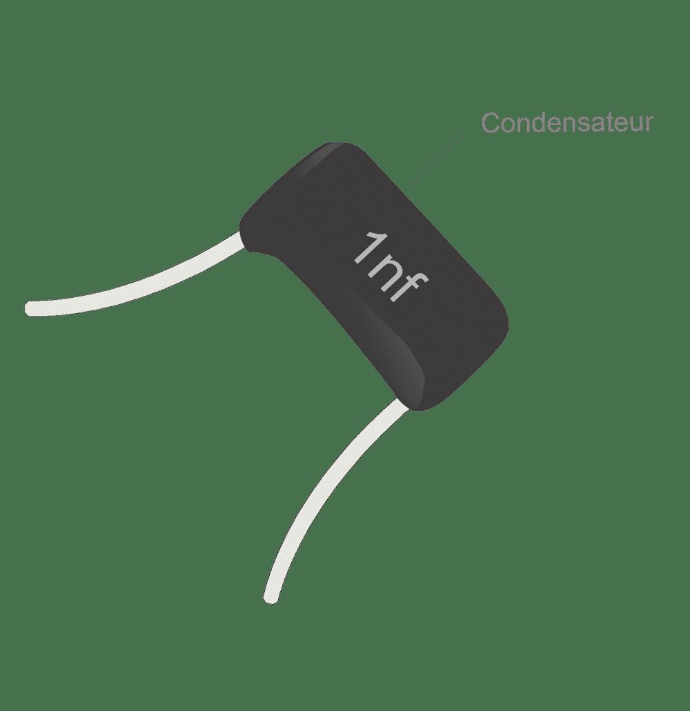 Treble bleed guitare Condensateur 1nf sans aucune résistance