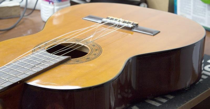 cordes guitare classique a changer